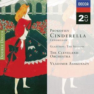 Prokofiev: Cinderella/Glazunov: The Seasons, Vladimir Ashkenazy, Clo, Rpo
