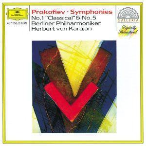 Prokofiev: Symphonies Nos.1 Classical & 5, Herbert von Karajan, Bp