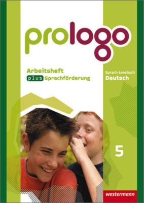 prologo, Allgemeine Ausgabe: 5. Schuljahr, Arbeitsheft plus Sprachförderung