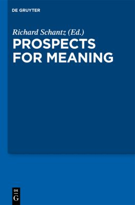 Prospects for Meaning