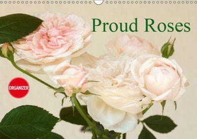 Proud Roses (Wall Calendar 2019 DIN A3 Landscape), Gisela Kruse