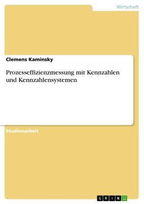 Prozesseffizienzmessung mit Kennzahlen und Kennzahlensystemen, Clemens Kaminsky