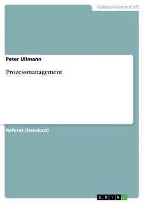 Prozessmanagement, Peter Ullmann