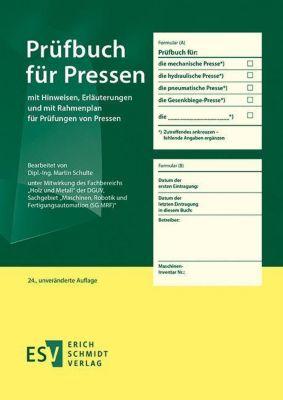 Prüfbuch für Pressen - Martin Schulte pdf epub