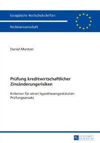 Pruefung kreditwirtschaftlicher Zinsaenderungsrisiken, Daniel Mantzel