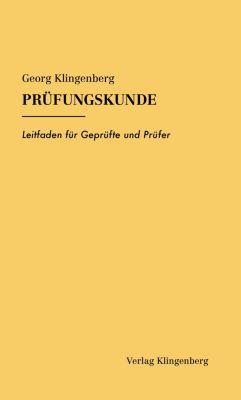 Prüfungskunde - Georg Klingenberg pdf epub