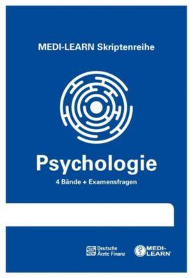 Psychologie, 4 Bde. + Examensfragen, Bringfried Müller, Valentin Vrecko
