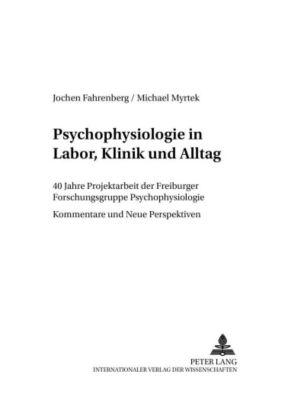 Psychophysiologie in Labor, Klinik und Alltag, Jochen Fahrenberg, Michael Myrtek