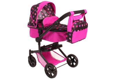 Puppenwagen Smarty Pinky Balls Babypuppen & Zubehör