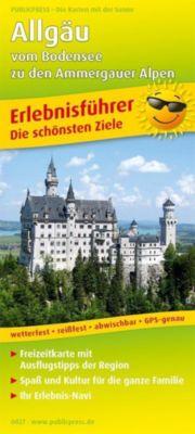 PublicPress Erlebnisführer Allgäu - vom Bodensee zu den Ammergauer Alpen