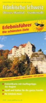 PublicPress Erlebnisführer Fränkische Schweiz - Oberes Maintal - Frankenalb