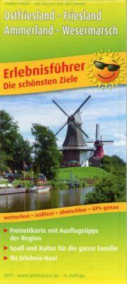 PublicPress Erlebnisführer Ostfriesland, Friesland, Ammerland & Wesermarsch