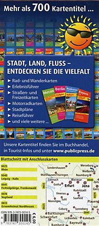 PublicPress Erlebnisführer Thüringer Wald mit Rennsteig - Produktdetailbild 1