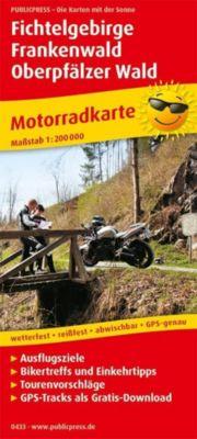 PUBLICPRESS Motorradkarte Fichtelgebirge - Frankenwald - Oberpfälzer Wald -  pdf epub