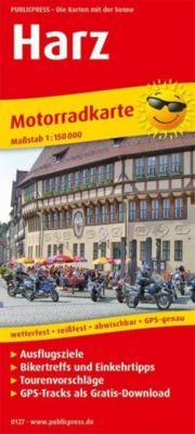 PublicPress Motorradkarte Harz -  pdf epub