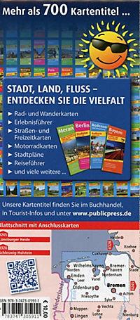 PublicPress Motorradkarte Ostfriesland - Wesermarsch - Cuxland - Produktdetailbild 1
