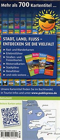 PublicPress Rad- und Wanderkarte Eiderstedt, St. Peter-Ording - Husum - Tönning - Produktdetailbild 1