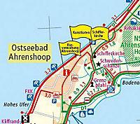 PublicPress Rad- und Wanderkarte Fischland - Darß - Zingst - Südliche Boddenküste - Produktdetailbild 2