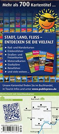PUBLICPRESS Rad- und Wanderkarte Grosses Lautertal - Produktdetailbild 1