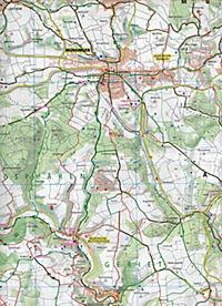 PUBLICPRESS Rad- und Wanderkarte Grosses Lautertal - Produktdetailbild 2