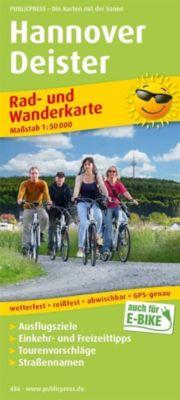 PublicPress Rad- und Wanderkarte Hannover, Deister