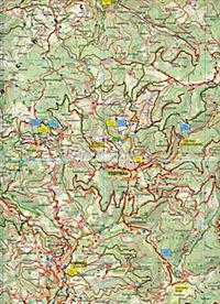 PublicPress Rad- und Wanderkarte Hochschwarzwald - Produktdetailbild 2