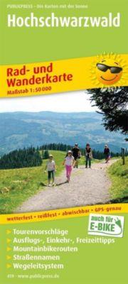 PublicPress Rad- und Wanderkarte Hochschwarzwald