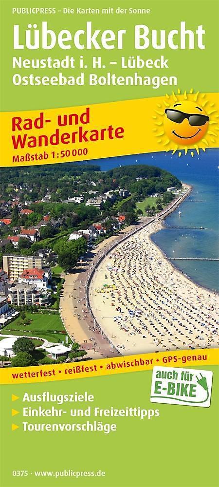 Ostseebad Boltenhagen Karte.Publicpress Rad Und Wanderkarte Lübecker Bucht Neustadt I