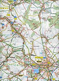 PUBLICPRESS Rad- und Wanderkarte Oberlausitz, Naturpark Zittauer Gebirge - Produktdetailbild 2
