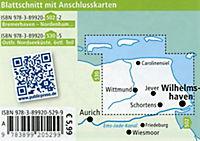 PublicPress Rad- und Wanderkarte Ostfriesische Nordseeküste, Östlicher Teil - Produktdetailbild 1
