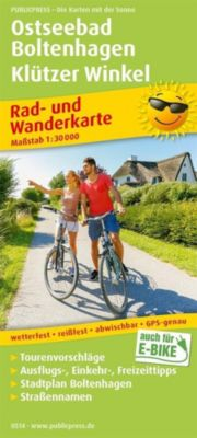 PublicPress Rad- und Wanderkarte Ostseebad Boltenhagen - Klützer Winkel