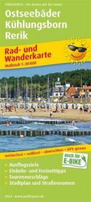 PublicPress Rad- und Wanderkarte Ostseebäder Kühlungsborn - Rerik