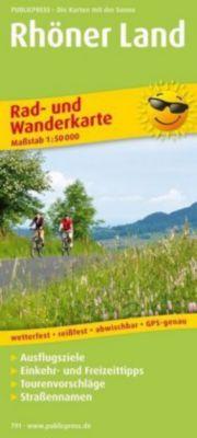 PublicPress Rad- und Wanderkarte Rhöner Land