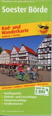 PUBLICPRESS Rad- und Wanderkarte Soester Börde