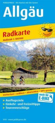 PUBLICPRESS Radkarte Allgäu