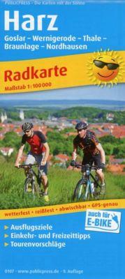 PUBLICPRESS Radkarte Harz