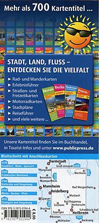 PublicPress Radkarte Kraichgau - Neckar - Odenwald - Produktdetailbild 1