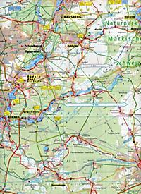 PublicPress Radkarte Märkische Schweiz, Seengebiet Oder-Spree - Produktdetailbild 1