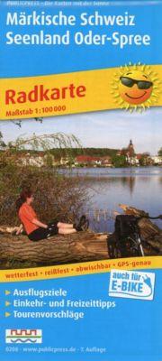 PublicPress Radkarte Märkische Schweiz, Seengebiet Oder-Spree