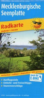 PUBLICPRESS Radkarte Mecklenburgische Seenplatte -  pdf epub