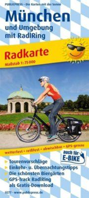 PublicPress Radkarte München und Umgebung mit RadlRing