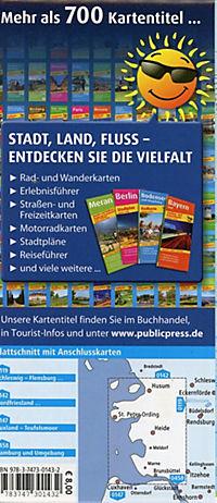 PublicPress Radkarte Nordseeküste, Husum - Heide - Brunsbüttel - Produktdetailbild 1