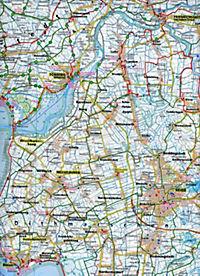 PublicPress Radkarte Nordseeküste, Husum - Heide - Brunsbüttel - Produktdetailbild 2