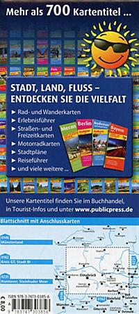 PublicPress Radkarte Osnabrücker Land, Naturpark Dümmer - Produktdetailbild 1