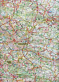 PublicPress Radkarte Osnabrücker Land, Naturpark Dümmer - Produktdetailbild 2