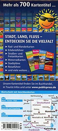PublicPress Radkarte Pfalz, Kaiserslautern - Bad Dürkheim, Pirmasens - Produktdetailbild 1