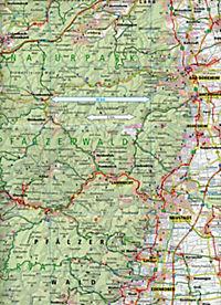 PublicPress Radkarte Pfalz, Kaiserslautern - Bad Dürkheim, Pirmasens - Produktdetailbild 2