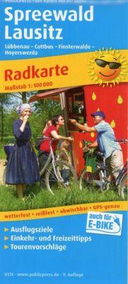 Publicpress Radkarte Spreewald - Lausitz