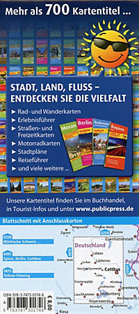 Publicpress Radkarte Spreewald - Lausitz - Produktdetailbild 2