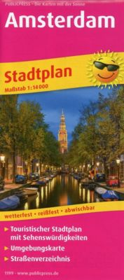 PUBLICPRESS Stadtplan Amsterdam